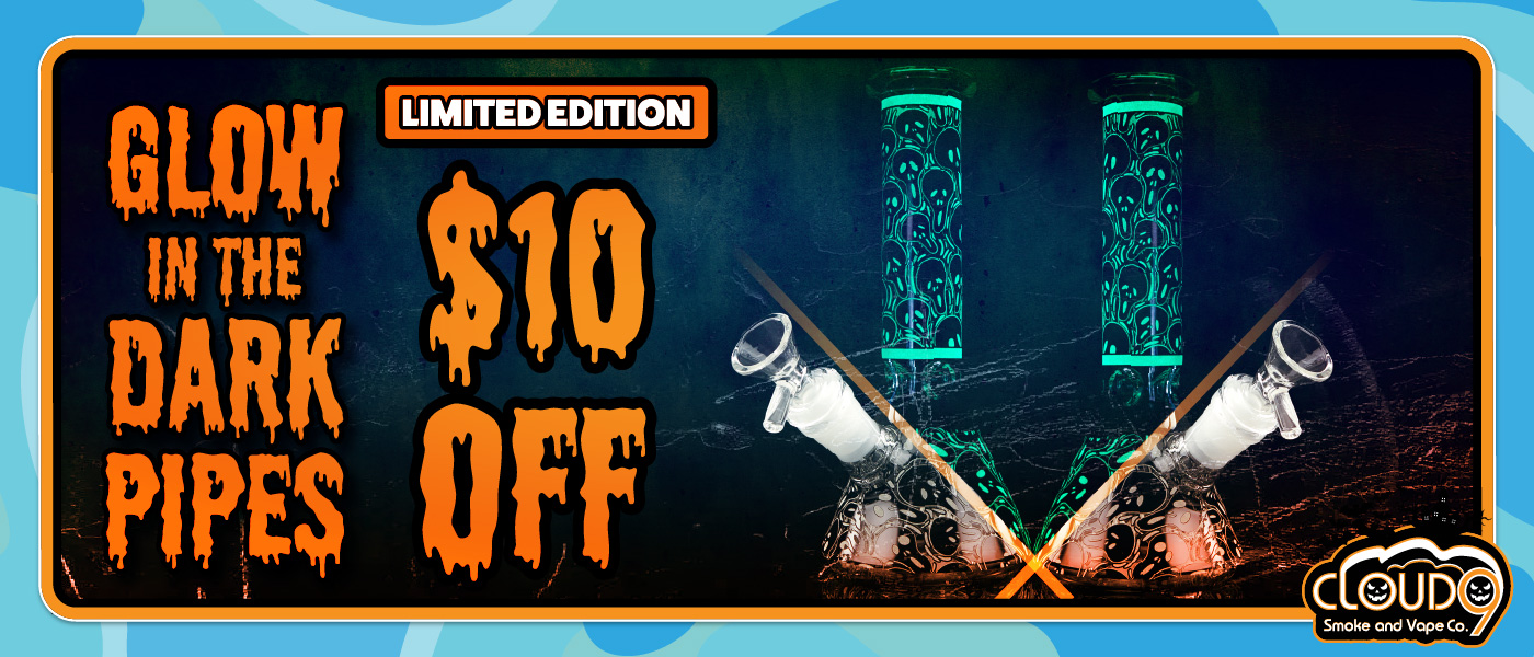 Mob Limited Edition Glow Water Pipes