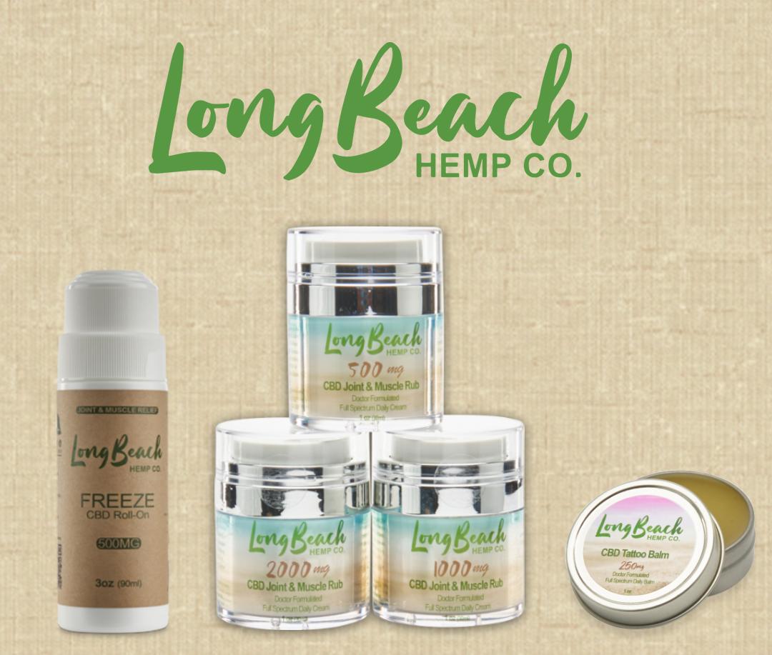 Long Beach Hemp Co. Topicals
